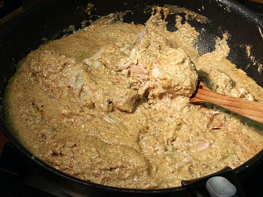 Курица с грецкими орехами - фото шаг 9