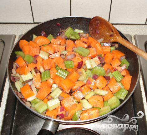 Баранина с морковью - фото шаг 4