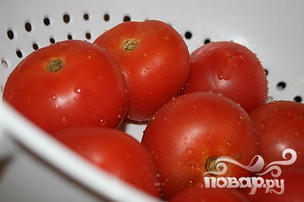 Фаршированные помидоры с индейкой - фото шаг 1
