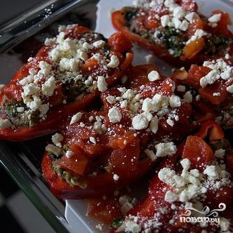 Фаршированные болгарские перцы в греческом стиле - фото шаг 3