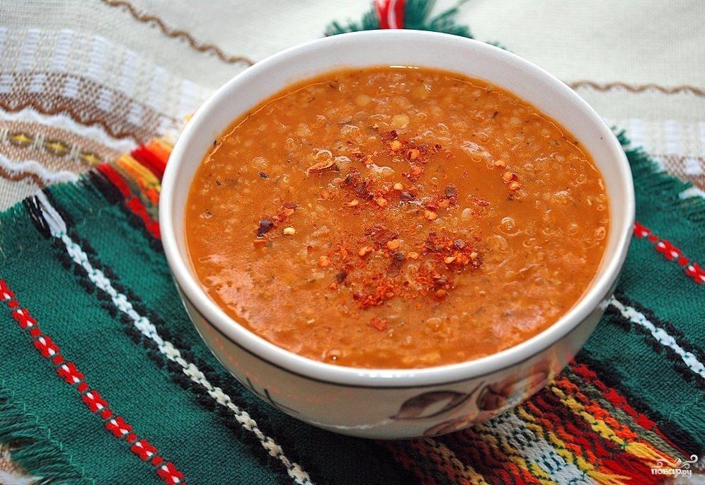 вкусный чечевичный суп с мясом рецепт