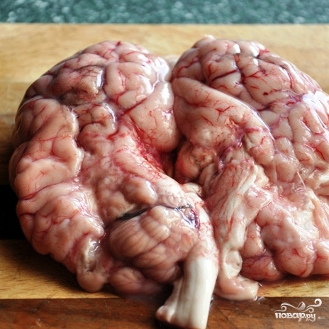 Рецепт Панированные мозги