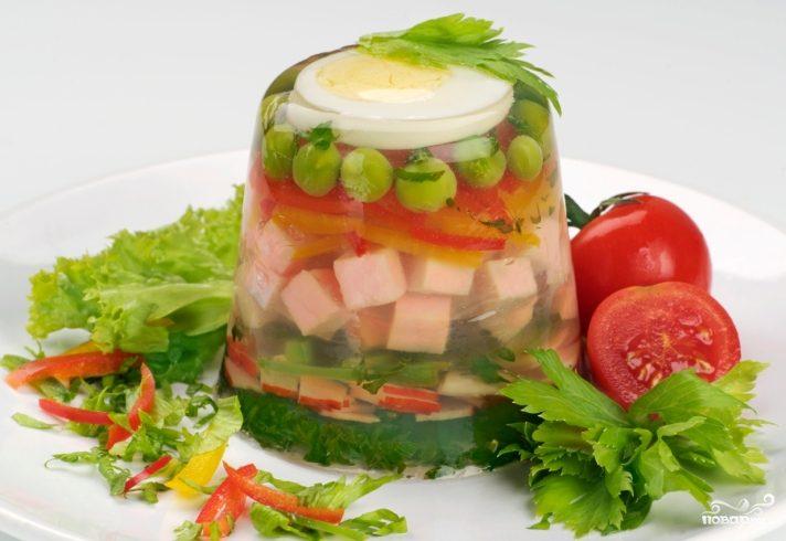 Рецепт Холодец с желатином