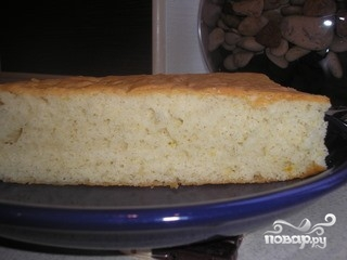 Рецепт Йогуртовый бисквит