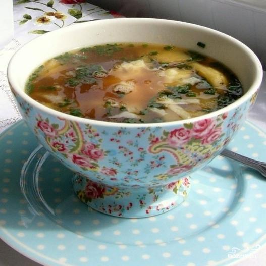 Тюрингский луковый суп - фото шаг 9