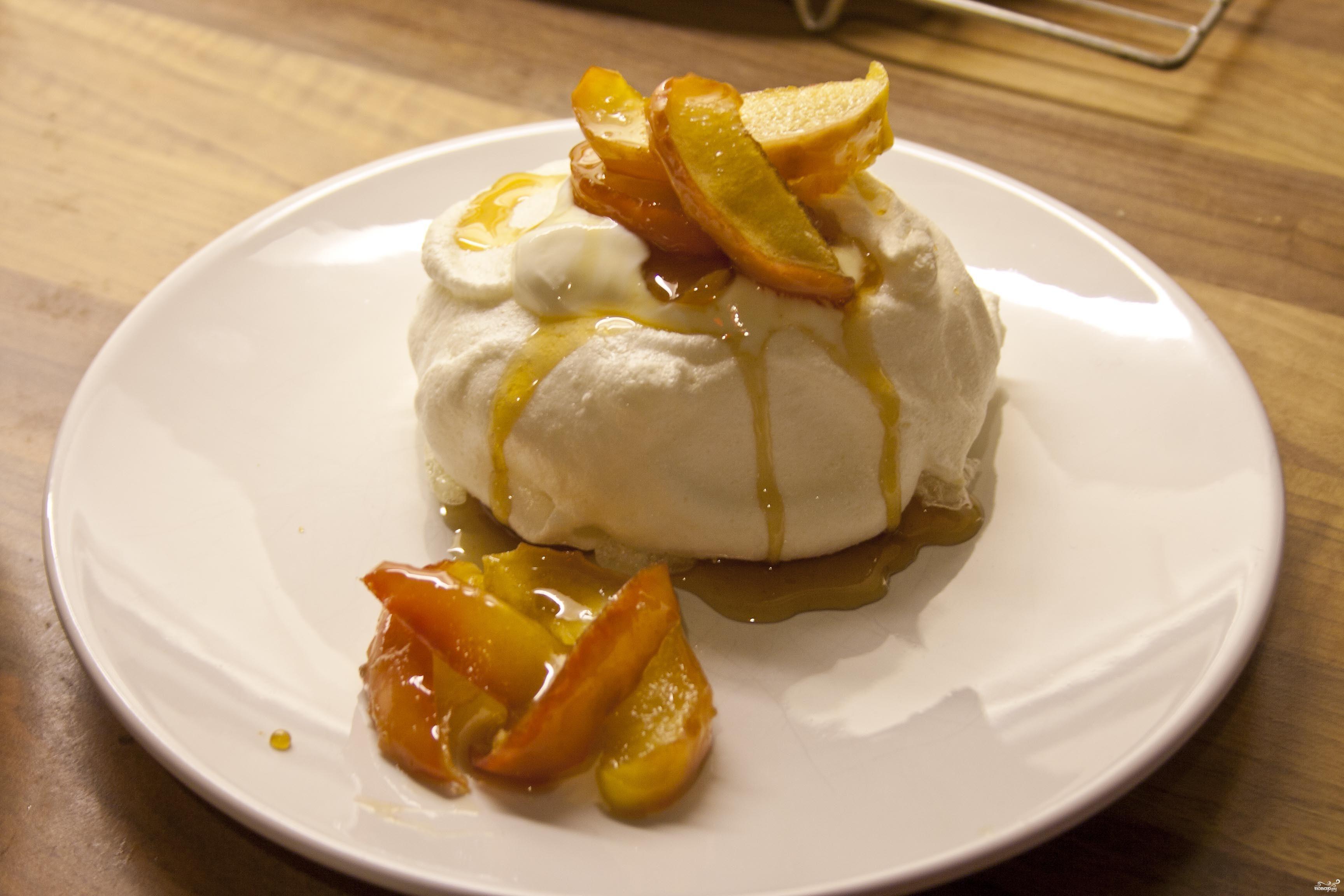 Рецепт Безе с яблоками