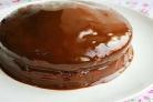 Торт из варенья и кефира