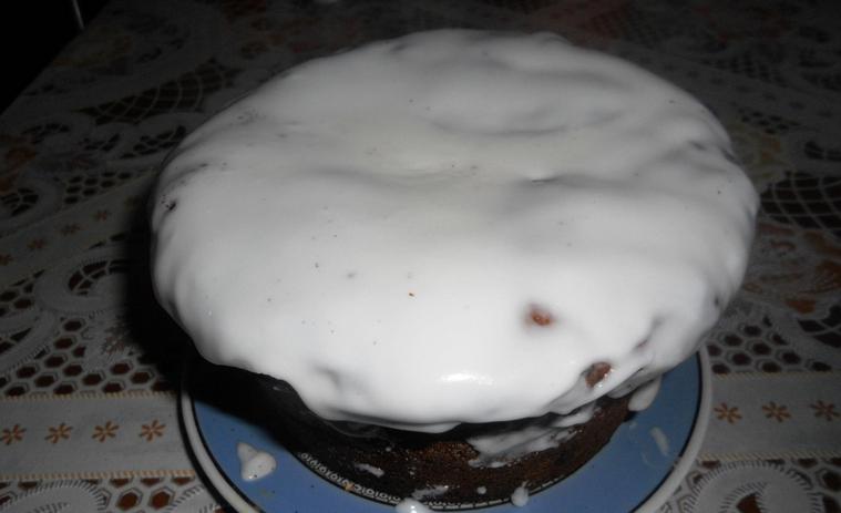 Кекс из дрожжевого теста - фото шаг 7