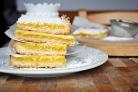 Лимонно-кокосовые пирожные