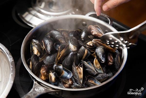 """Салат из морепродуктов """"Морской коктейль"""" - фото шаг 2"""