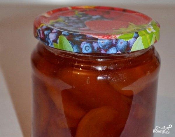 Персиковое варенье - фото шаг 4