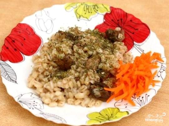 перловка с мясом в мультиварке рецепт пошаговый