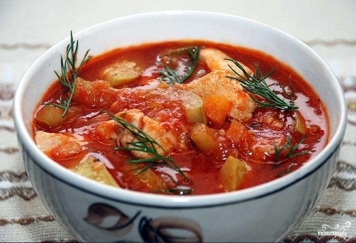рецепт томатного супа с гренками