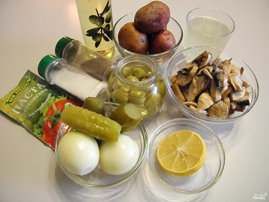 Грибная солянка с картошкой - фото шаг 1