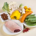 Рецепт Утка с овощами и рисом