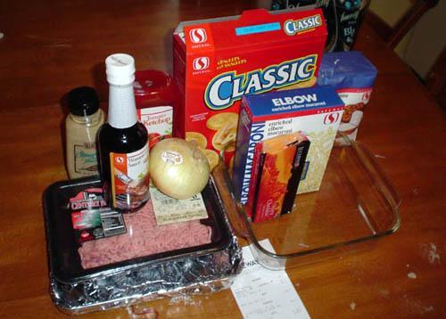 Мясной рулет и макароны с сыром - фото шаг 1
