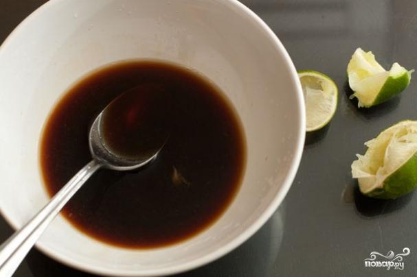 Маринад с соевым соусом