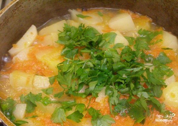 Тушеная картошка с морковью - фото шаг 4