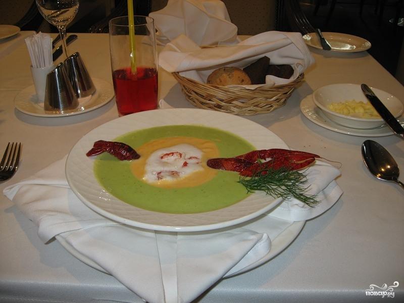 Рецепт Суп раковый