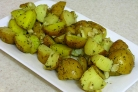 Картофель в рукаве в духовке
