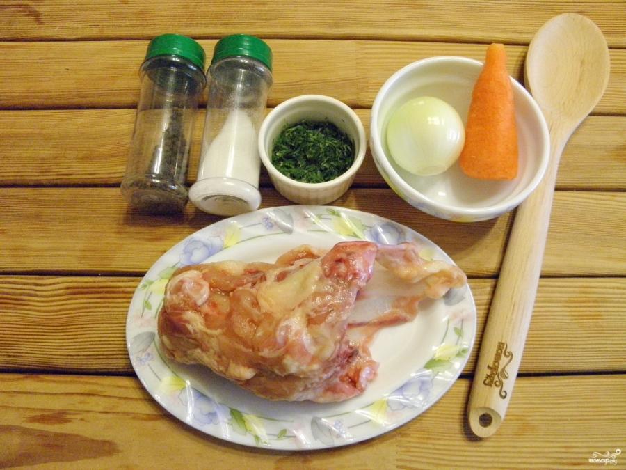 Куриный бульон в мультиварке - фото шаг 1