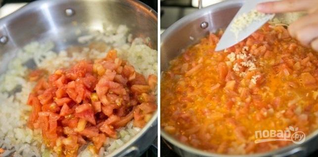 Кальмары с рисом - фото шаг 4