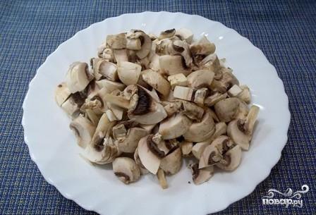 Жареные грибы с баклажанами - фото шаг 3
