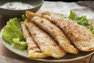 Чебуреки с сыром и ветчиной