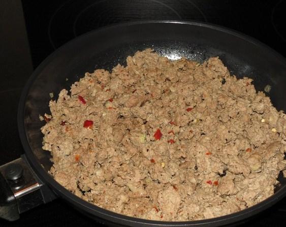 Запеканка рисовая с фаршем - фото шаг 4
