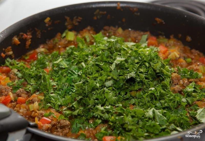 Лазанья с фаршем и овощами - фото шаг 6