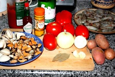 Рецепт Испанский рыбный суп