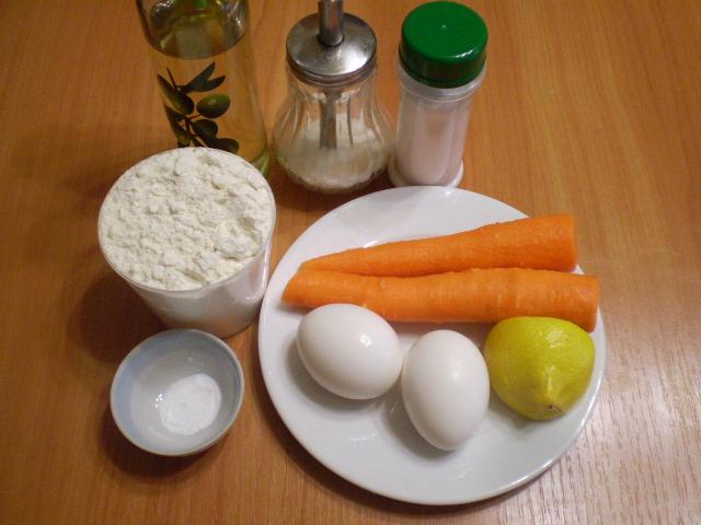 Оладьи из морковки - фото шаг 1