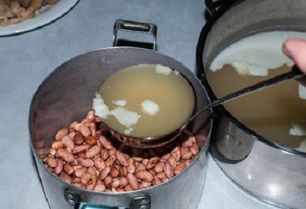 Суп с фасолью и мясом - фото шаг 3