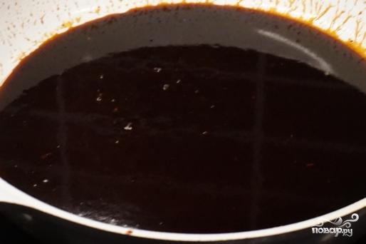 Утиная грудка в соевом соусе - фото шаг 6