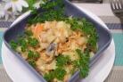 Салат с корейской морковкой и фасолью