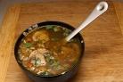 Постный суп с гречкой