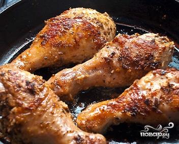 Куриные ножки с чесноком - фото шаг 6