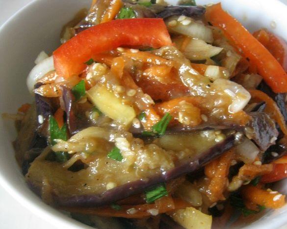 Салат баклажаны по-корейски - фото шаг 9