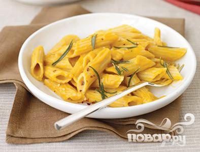 Рецепт Паста с тыквенным соусом