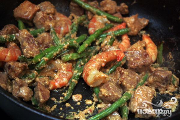 Рисовая лапша с рисом и креветками - фото шаг 5