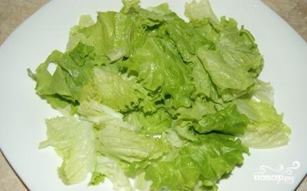 Салат с мидиями и осьминогами - фото шаг 4