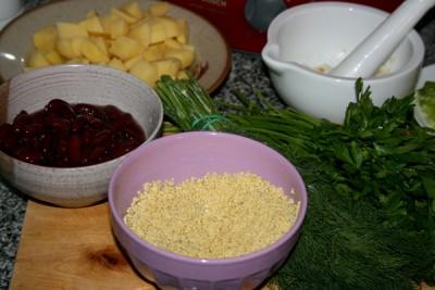 Рецепт Борщ по-черниговски