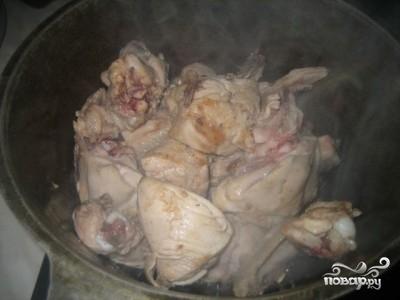Рецепт Подливка из курицы со сметаной