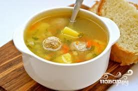 Рецепт Суп с фаршем