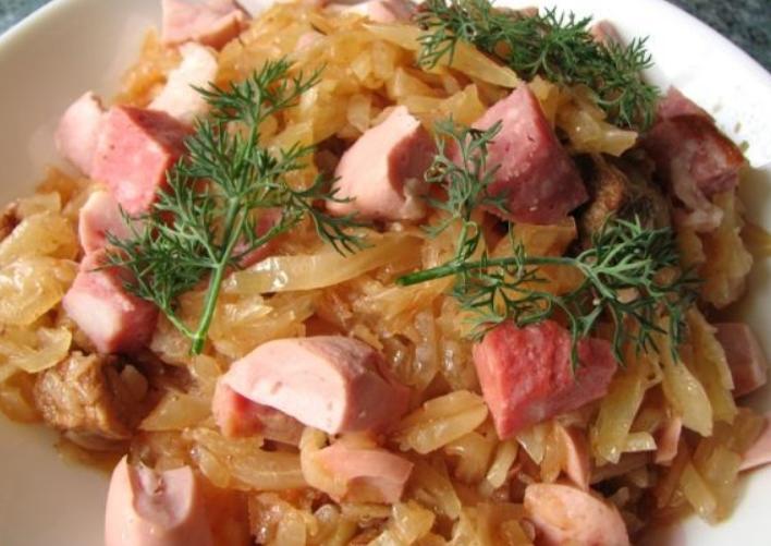Бигус классический рецепт пошагово