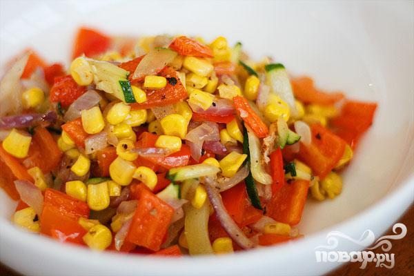 Летние жареные овощи