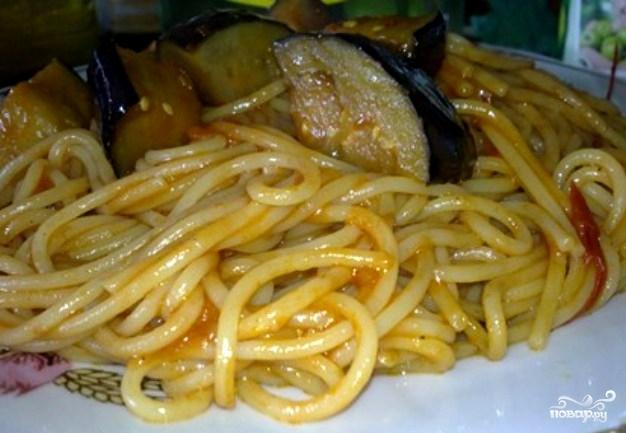 Спагетти в воке