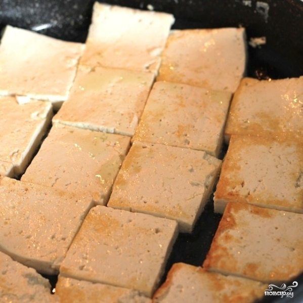 Припущенный тофу - фото шаг 5
