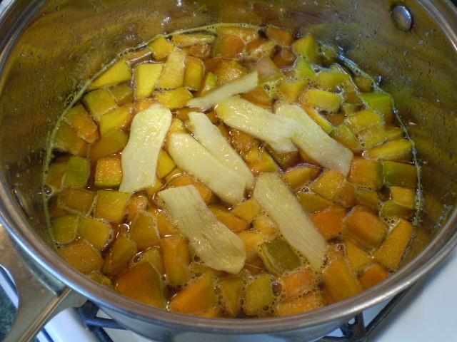 Варенье из тыквы с имбирем и лимоном - фото шаг 6