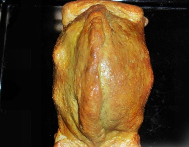 Курица в тесте в духовке   - фото шаг 7